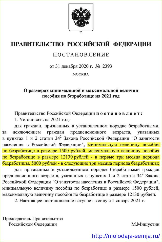 Постановление от 31 декабря 2020 года № 2393